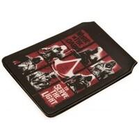 Malas Carteira Assassins Creed  Preto/Vermelho