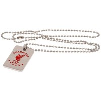 Relógios & jóias Colar Liverpool Fc  Prata/Vermelho