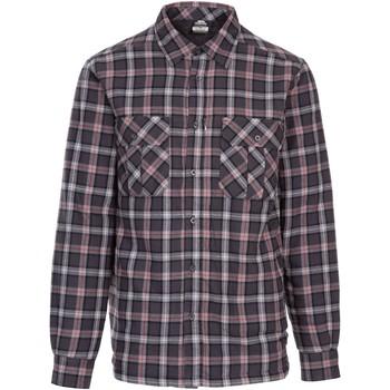 Textil Homem Camisas mangas comprida Trespass  Cinza Escuro