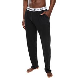 Textil Homem Pijamas / Camisas de dormir Brave Soul  Preto