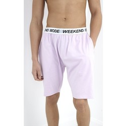 Textil Homem Pijamas / Camisas de dormir Brave Soul  Lilás