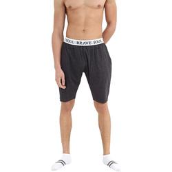 Textil Homem Pijamas / Camisas de dormir Brave Soul  Cinza