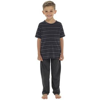 Textil Rapaz Pijamas / Camisas de dormir Tom Franks  Cinza