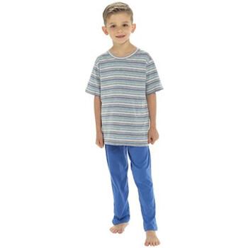 Textil Rapaz Pijamas / Camisas de dormir Tom Franks  Marinha
