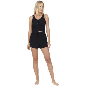 Textil Mulher Pijamas / Camisas de dormir Brave Soul  Preto