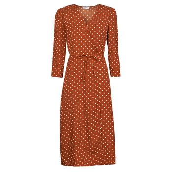 Textil Mulher Vestidos compridos Betty London PAXONE Ferrugem