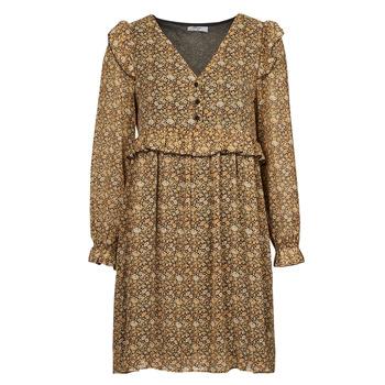 Textil Mulher Vestidos curtos Betty London PIXONE Castanho