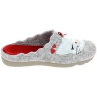 Sapatos Mulher Chinelos Boissy JH65458 Gris Cinza