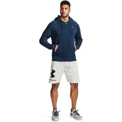 Textil Homem Sweats Under Armour Rival Fleece FZ Azul