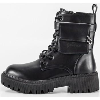Sapatos Mulher Botas Keslem 8391 Noir