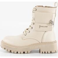 Sapatos Mulher Botas Keslem 8391 Beige
