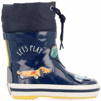 Sapatos Criança Botas de borracha Gioseppo Galochas Nebra B 60101 Navy Azul