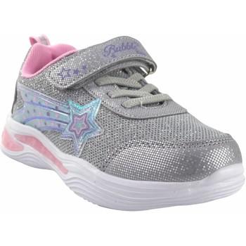 Sapatos Rapariga Multi-desportos Bubble Bobble Sport girl  a3429 prata Cinza