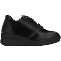 Sapatos Mulher Sapatilhas de cano-alto Melluso R25623A Preto