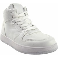 Sapatos Rapariga Sapatilhas de cano-alto Bubble Bobble Menina esportiva  a3510 branco Branco
