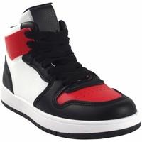 Sapatos Rapaz Sapatilhas de cano-alto Bubble Bobble Sport boy  a3510 bl.red Vermelho