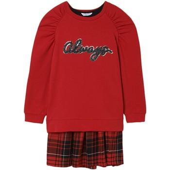 Textil Rapariga Vestidos Mayoral  Rojo