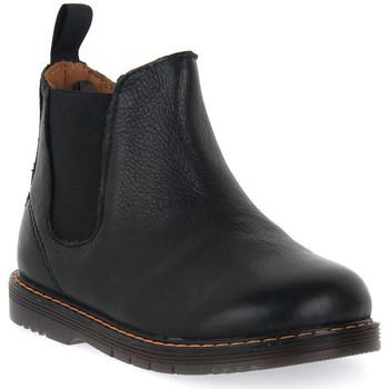 Sapatos Rapaz Botas baixas Grunland NERO 88NILL Nero