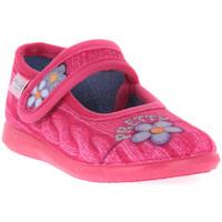 Sapatos Rapaz Chinelos Grunland FUXIA 54DALY Rosa