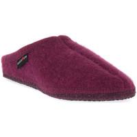 Sapatos Mulher Chinelos Haflinger ALASKA MAULBEERE WALKSTOFF CALZ G Marrone