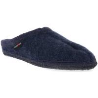 Sapatos Mulher Chinelos Haflinger ALASKAJEANS WALKSTOFF CALZ G Blu