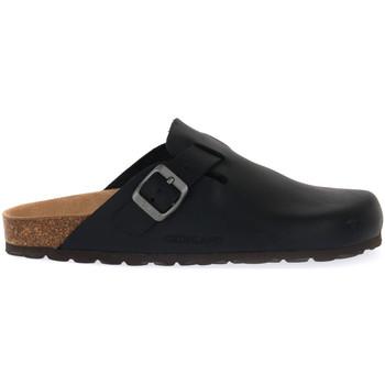 Sapatos Homem Chinelos Grunland NERO 70 SARA Nero