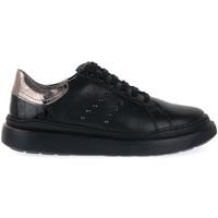 Sapatos Mulher Sapatilhas Keys SNEAKER BLK Nero
