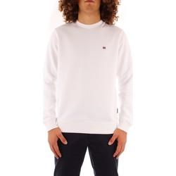 Textil Homem Sweats Napapijri NP0A4FQW0021 Branco