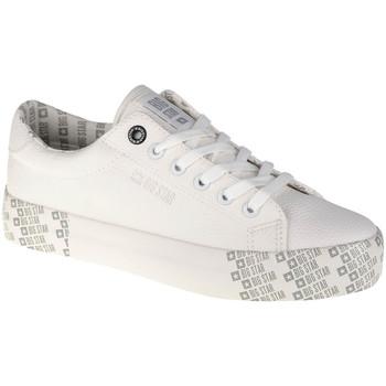 Sapatos Mulher Sapatilhas Big Star Shoes Blanc