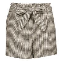 Textil Mulher Shorts / Bermudas Betty London PRICSOU Preto / Cru