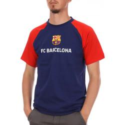 Textil Homem T-Shirt mangas curtas Fc Barcelona  Azul