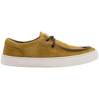Sapatos Homem Sapatos Natural World Sapatos Aya 6766 Golden Castanho