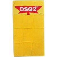 Casa Mulher Toalha e luva de banho Dsquared D7P001930 Amarelo
