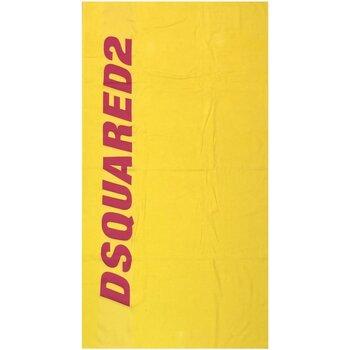 Casa Mulher Toalha e luva de banho Dsquared D7P002430 Amarelo
