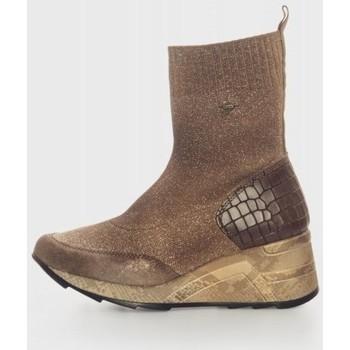 Sapatos Mulher Botins Cetti 1272 Marrón