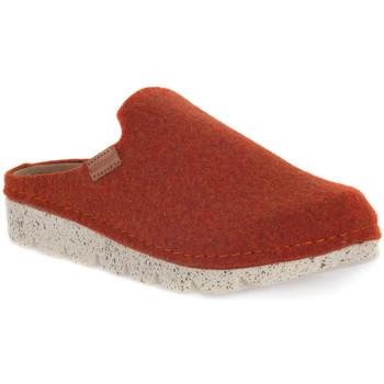 Sapatos Mulher Chinelos Grunland ARANCIO 40POFF Arancione