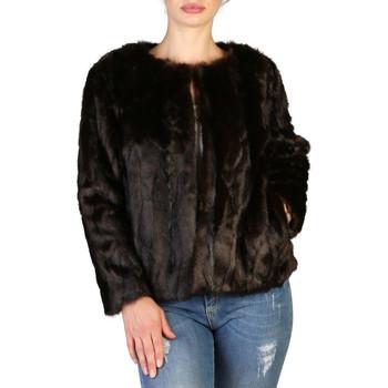 Textil Mulher Casacos Yes Zee - g009_e600 Castanho