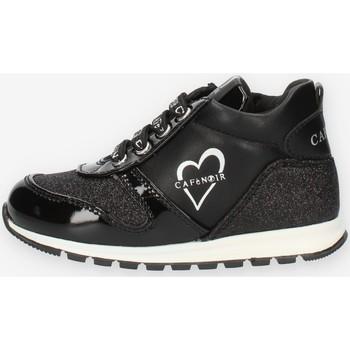 Sapatos Rapariga Sapatilhas de cano-alto Café Noir C1530 Preto