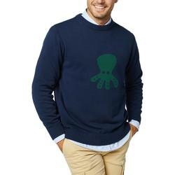 Textil Homem Casacos de malha Elpulpo  Azul