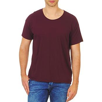 Textil Mulher T-Shirt mangas curtas American Apparel RSA0410 Bordô