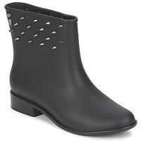 Sapatos Mulher Botas baixas Melissa MOON DUST SPIKE Preto