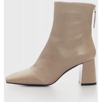 Sapatos Mulher Botins Angel Alarcon 21511 Beige