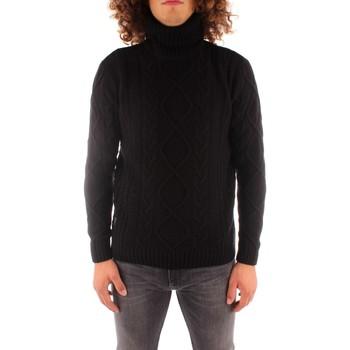 Textil Homem camisolas Blauer 21WBLUM04142006088 Preto