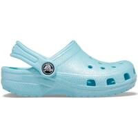 Sapatos Criança Sapatos aquáticos Crocs Classic Glitter Clog Azul