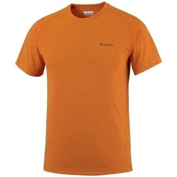 Textil Homem T-Shirt mangas curtas Columbia Mountain Tech Iii Cor de laranja