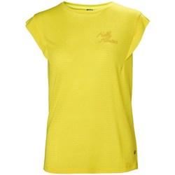 Textil Mulher T-Shirt mangas curtas Helly Hansen Siren Spring Amarelo