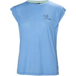 Textil Mulher T-Shirt mangas curtas Helly Hansen Siren Spring Azul