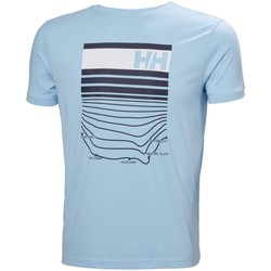 Textil Homem T-Shirt mangas curtas Helly Hansen Shoreline Azul