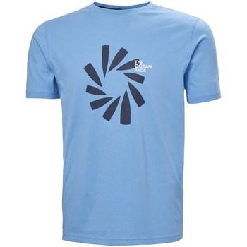 Textil Homem T-Shirt mangas curtas Helly Hansen The Ocean Race Azul