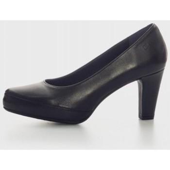 Sapatos Mulher Escarpim Fluchos D5794 Negro
